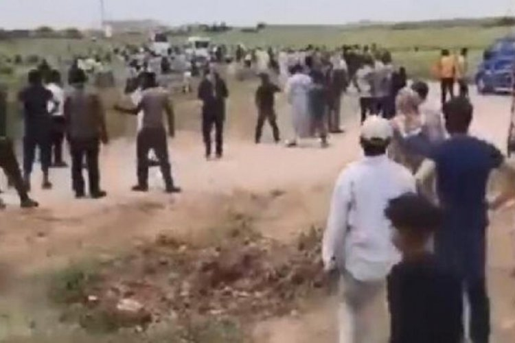 Kaçak elektrik denetimine gelen ekiplere saldırı