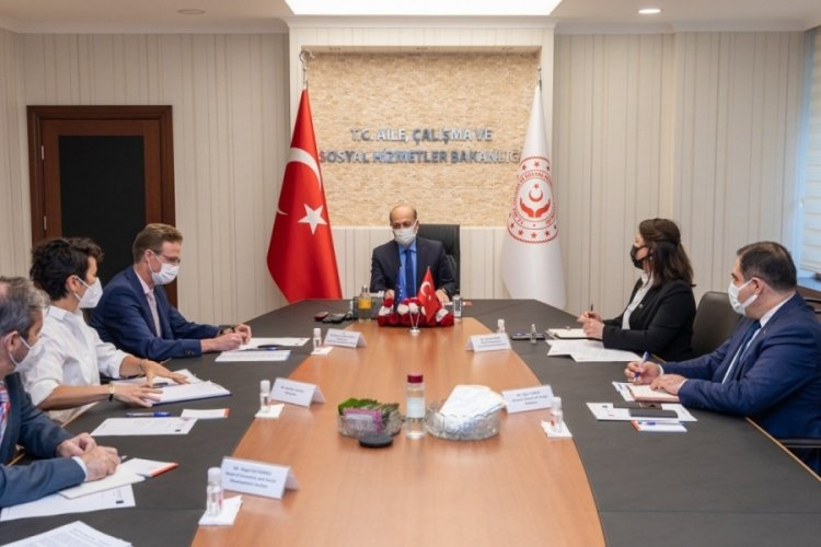 Bakan Bilgin, Büyükelçi Meyer-Landrut ile görüştü