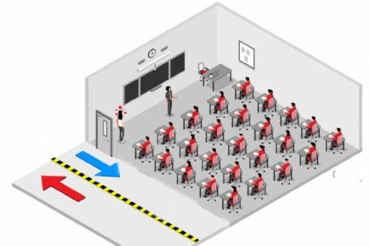 Bir odada 27 kişi, 1'i pozitif: Kaç dakikada bulaşır?