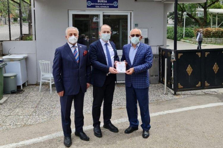 Bursa'da huzurevine anlamlı ziyaret
