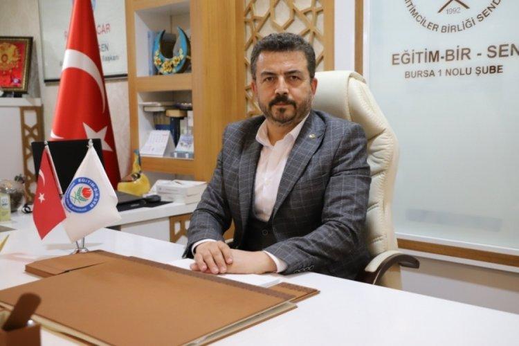 """Bursa Eğitim Bir Sen 1 Nolu Şube Başkanı Acar: """"Annelere her gün kıymet vermeliyiz"""""""