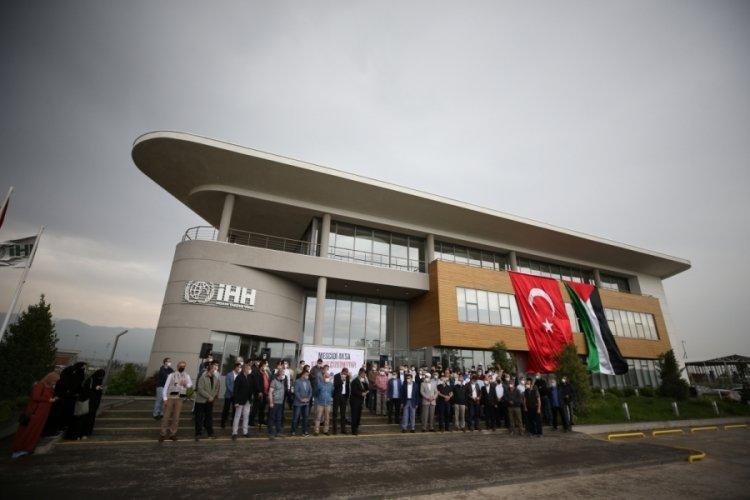 İsrail'in Mescid-i Aksa'ya saldırması, Bursa'da protesto edildi