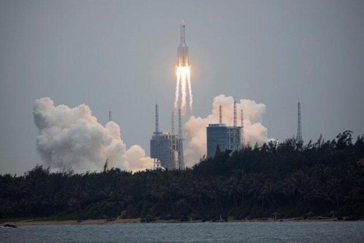 ABD, Çin'in kontrolden çıkan roketinin nereye düşeceğini açıkladı