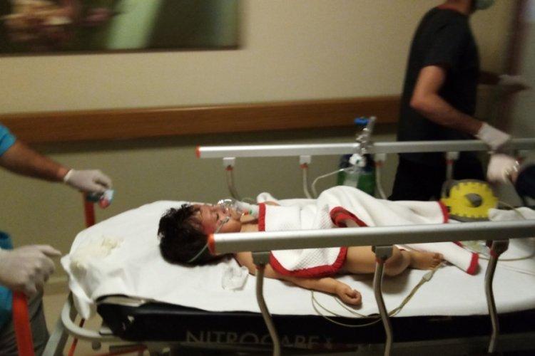 Bursa'da otomobilin çarptığı çocuk ağır yaralandı