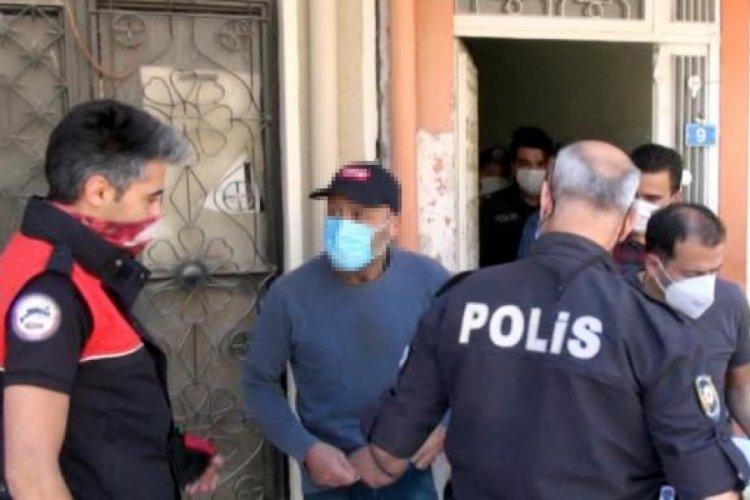 Çatıda çıplak adam alarmı: Gözaltına alındı