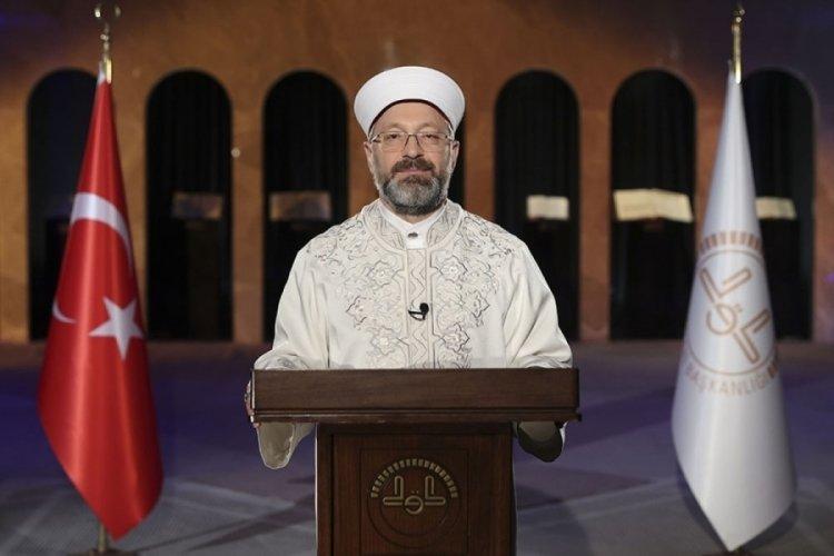 Diyanet İşleri Başkanı Erbaş'tan aile vurgusu