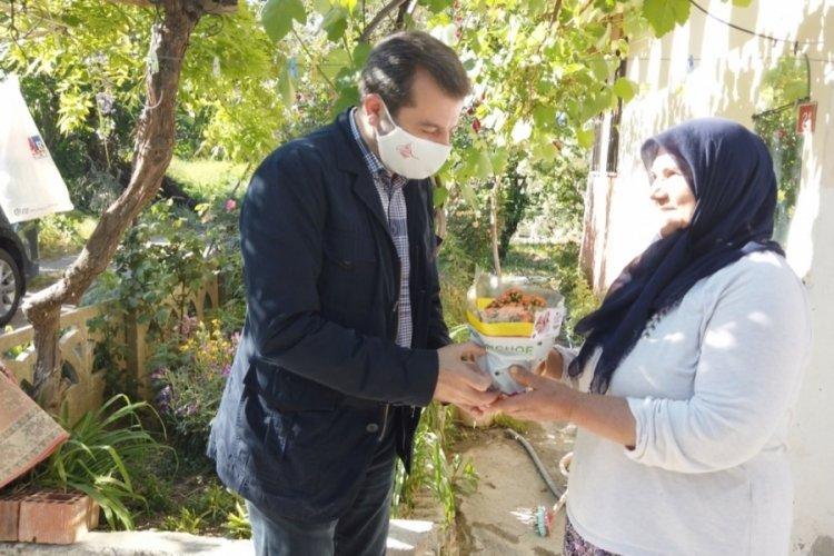 Bursa Gürsu Belediyesi'nden annelere hediye