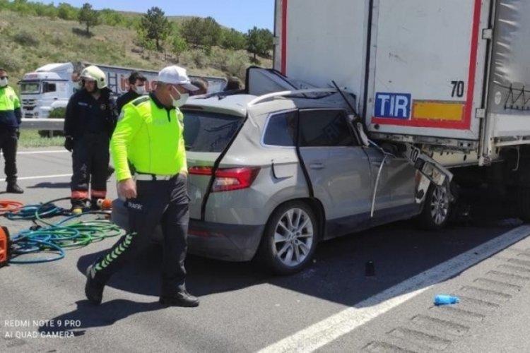 Ankara'da feci kaza: 2 ölü 3 yaralı