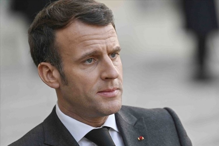 Macron'dan koronavirüs itirafı