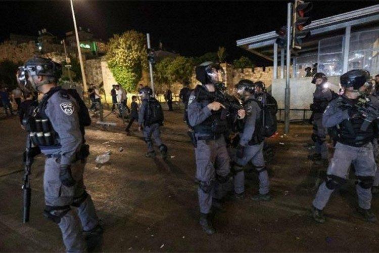 İsrail polisi, 14 Filistinliyi yaraladı