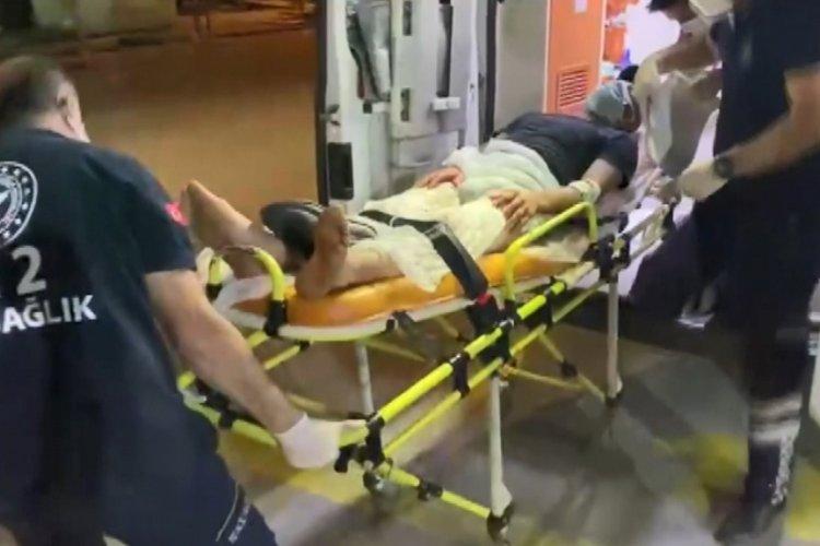 Bursa'da husumetlisi tarafından baltayla yaralandı