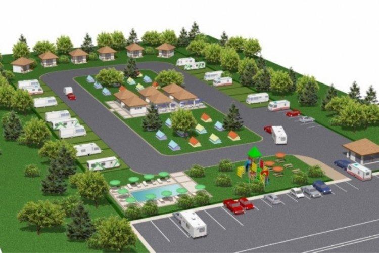 Bursa Harmancık'nın yeni kamp ve karavan alanı turizmin gözdesi olacak