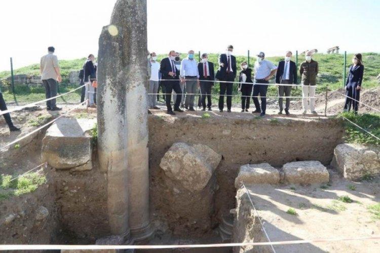 Aizanoi Antik Kenti'nde önemli buluş