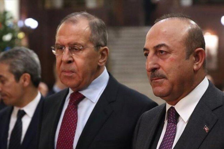 Çavuşoğlu ve Lavrov'dan İsrail'e ortak çağrı