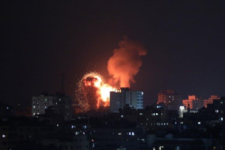 İsrail, hava saldırılarında 8 Hamas üyesini öldürdü