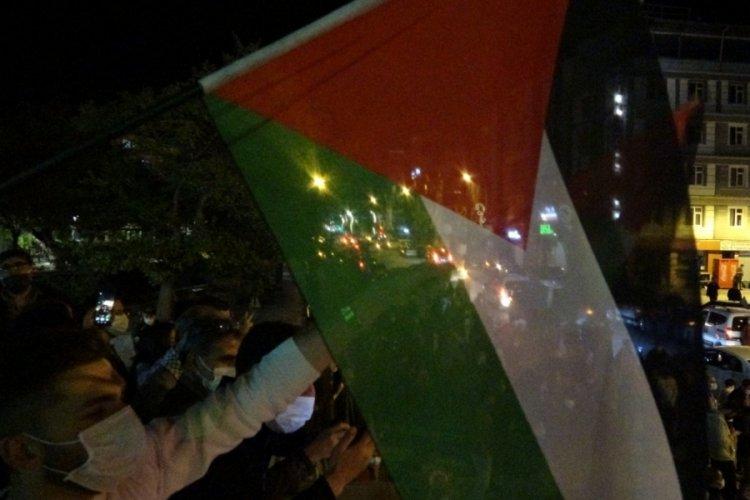 Türkiye'nin birçok kentinde İsrail'in saldırıları protesto edildi