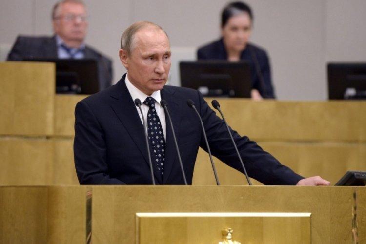 Putin, Açık Semalar Anlaşması'ndan çekilmeye yönelik taslağı Duma'ya sundu