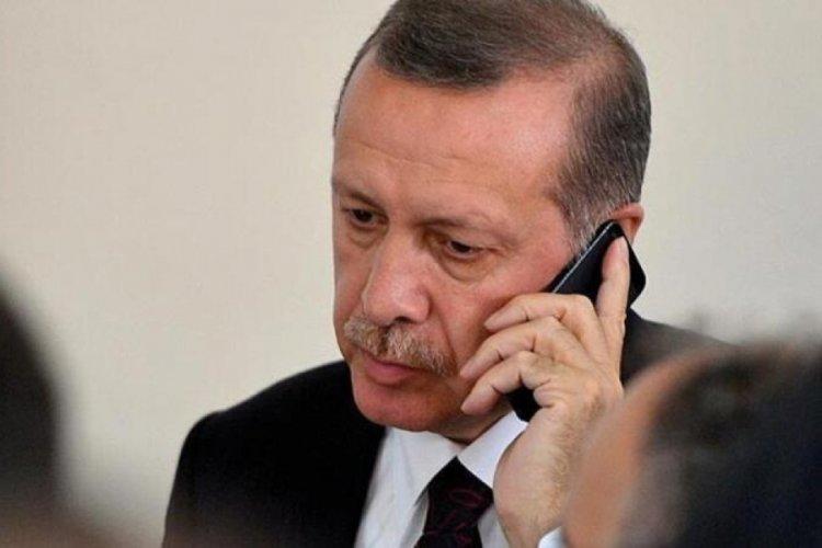 Cumhurbaşkanı Erdoğan'dan Filistin için telefon diplomasisi