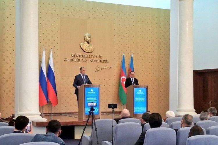 Rusya Dışişleri Bakanı Lavrov, Azerbaycanlı mevkidaşı Bayramov ile görüştü