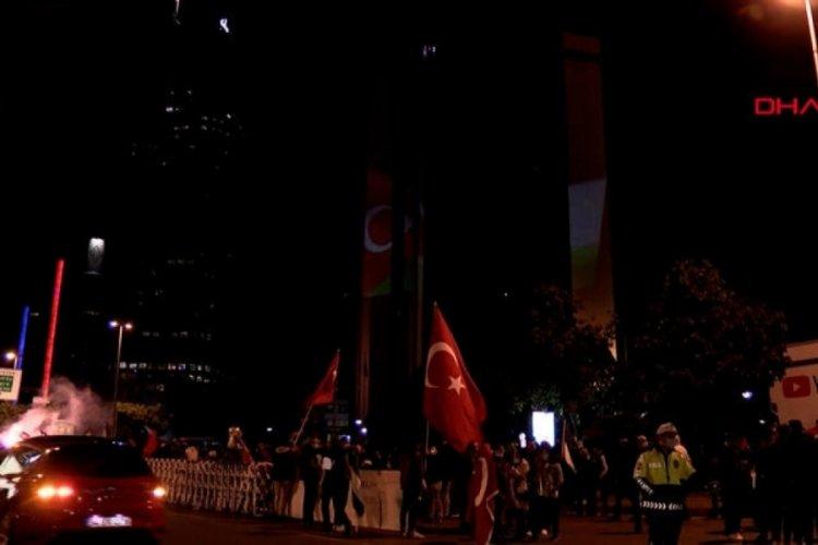 İstanbul'da İsrail'in saldırıları protesto edildi