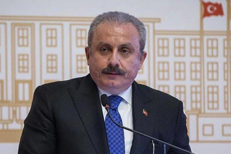 TBMM Başkanı Şentop'tan uluslararası topluma 'Filistin' çağrısı