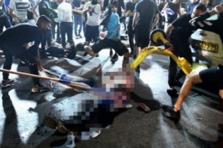 Yürek sızlatan görüntü! İsrail'de fanatik Yahudiler sürücüyü linç etmek istedi
