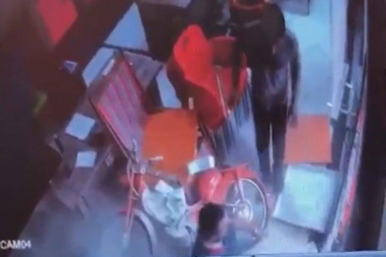 Tavan delindi, 3 metreden zemine böyle düştü