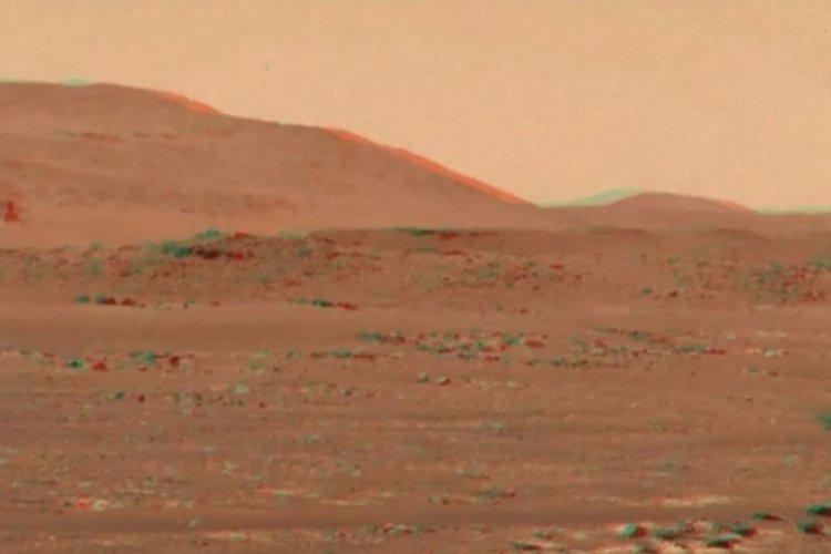 Mars'ın 3D videosu yayınlandı! Gözlükle izlemek gerekiyor