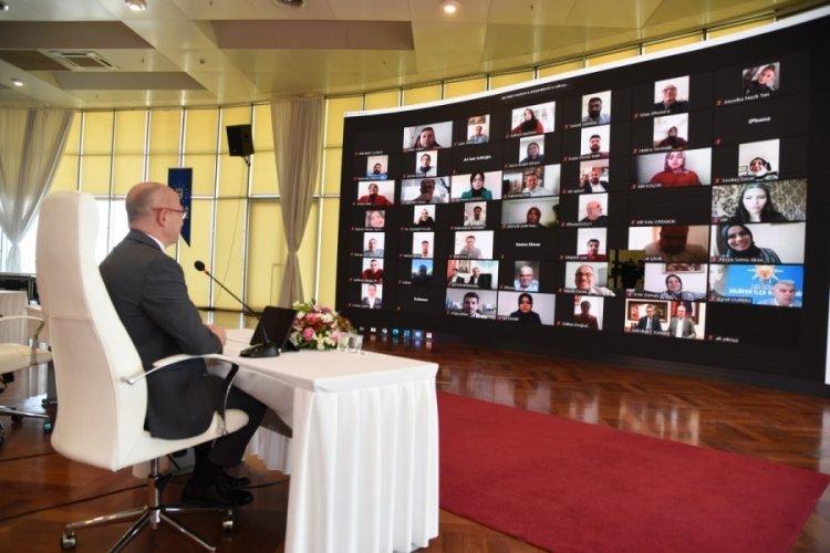 AK Parti Bursa teşkilatı online bayramlaştı