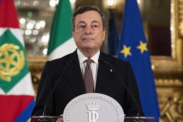 İtalya'da Draghi başbakanlık maaşından feragat etti