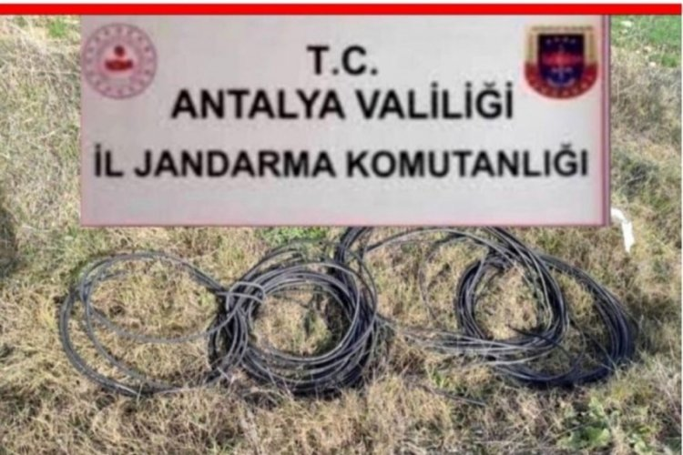 Jandarma 51 güvenlik kamerası kaydını inceleyerek hırsızları buldu