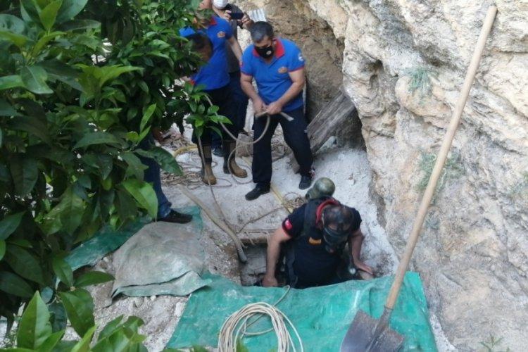Su kuyusuna giren üç arkadaş hayatını kaybetti