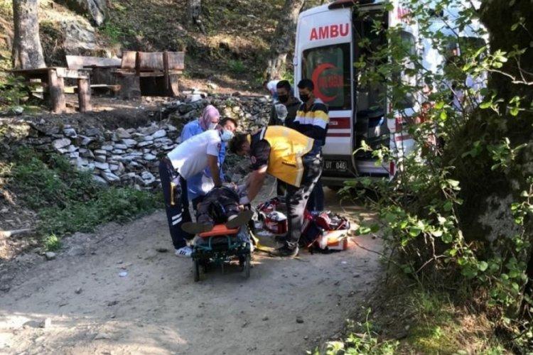 Kazdağları'nda feci kaza