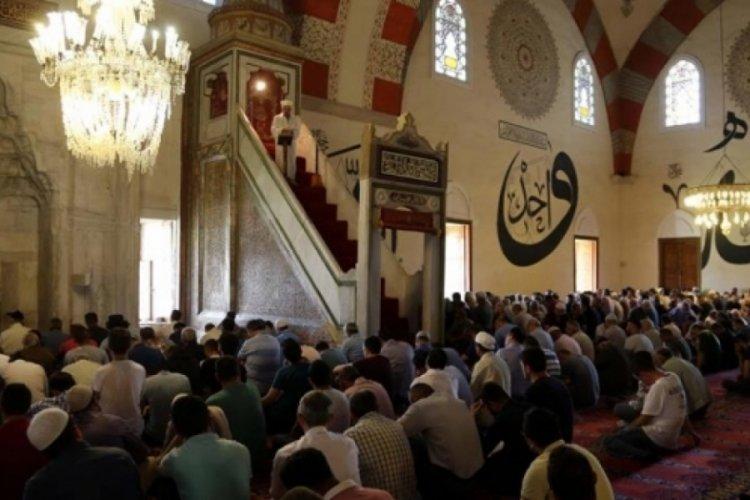Cuma hutbesinde Filistin için dua edildi