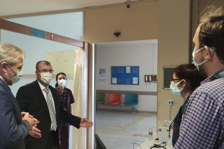 Sağlık Bakan Yardımcı Halil Eldemir,Bursa'da incelemelerde bulundu