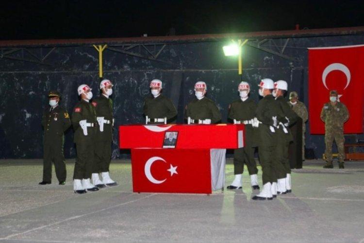 Şehit Özdamar'ın cenazesi törenle memleketine uğurlandı