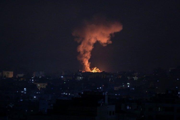 İsrail savaş uçakları Gazze'nin kuzeyini bombaladı
