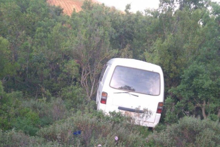 Yalova'da çalınan panelvan araç Bursa'da bulundu