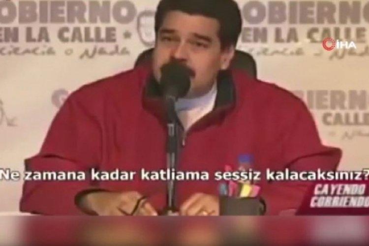 Maduro'nun Filistin sözleri yeniden gündem oldu