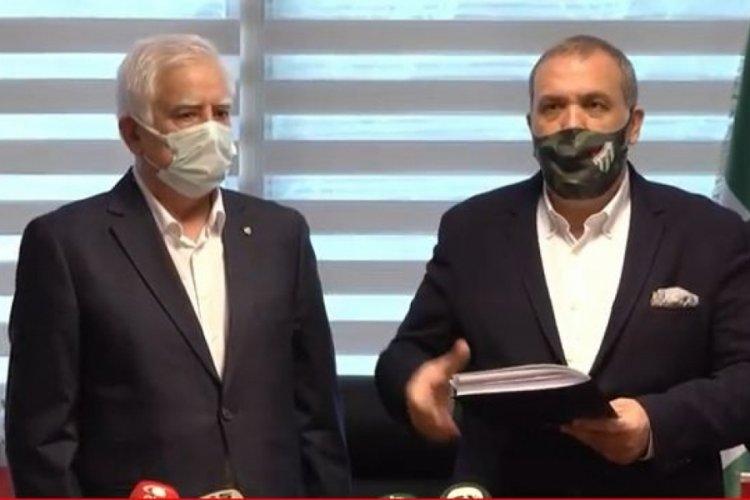 Bursaspor'da ilk başkan adayı Erkan Kamat