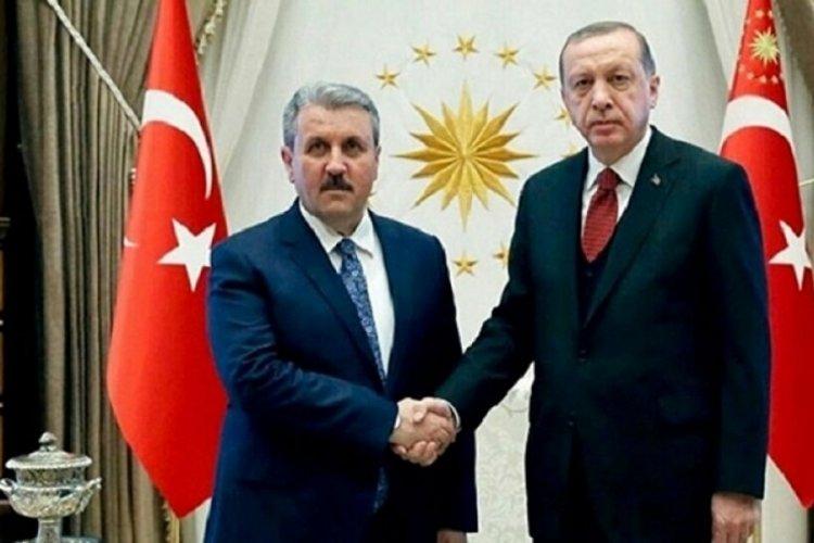 Cumhurbaşkanı Erdoğan ve Destici telefonla görüştü