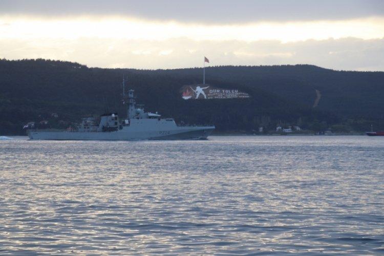 Rus ve İngiliz savaş gemileri Çanakkale Boğazı'ndan geçti