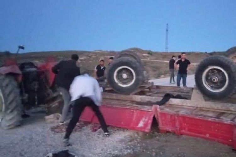 Piknik dönüşü traktör faciasında son görüntüler ortaya çıktı...