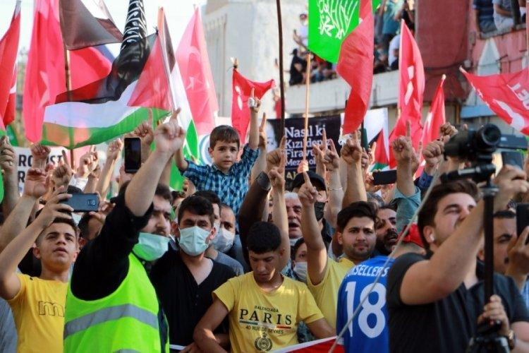 İncirlik Üssü önünde İsrail protestosu