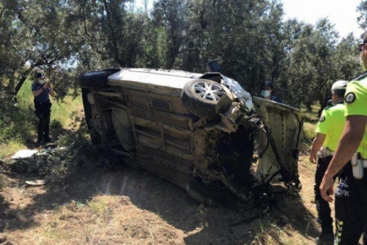 Bursa Gemlik'teki kazadan acı haber