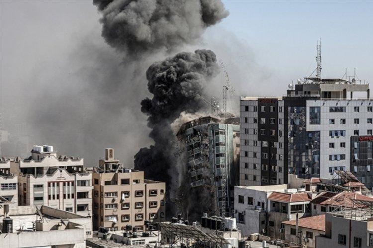 Gazze'de ofisi vurulan Al Jazeera'dan açıklama var