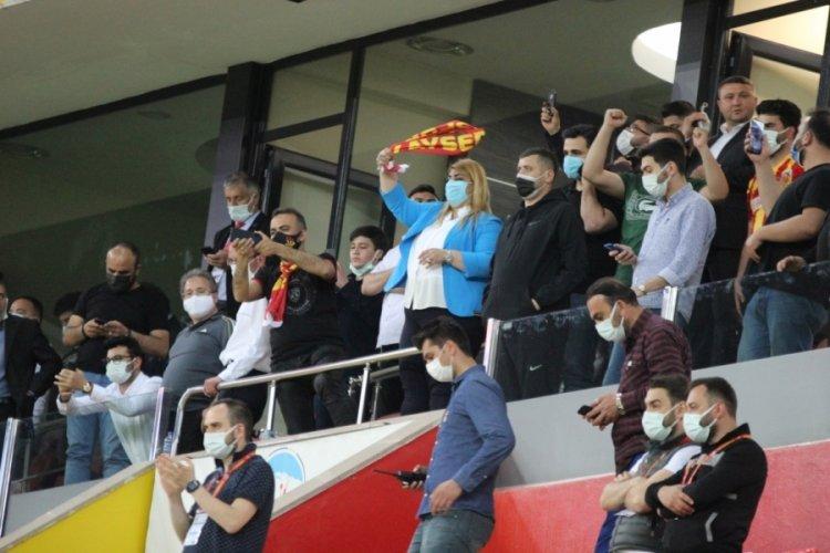 Kayserispor'da ligde kalma mutluluğu
