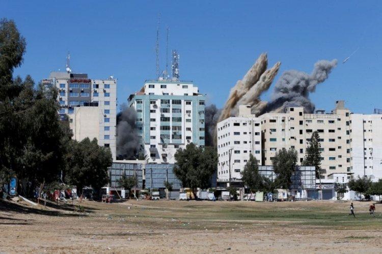 Gazze'de can kaybı 174'e yükseldi