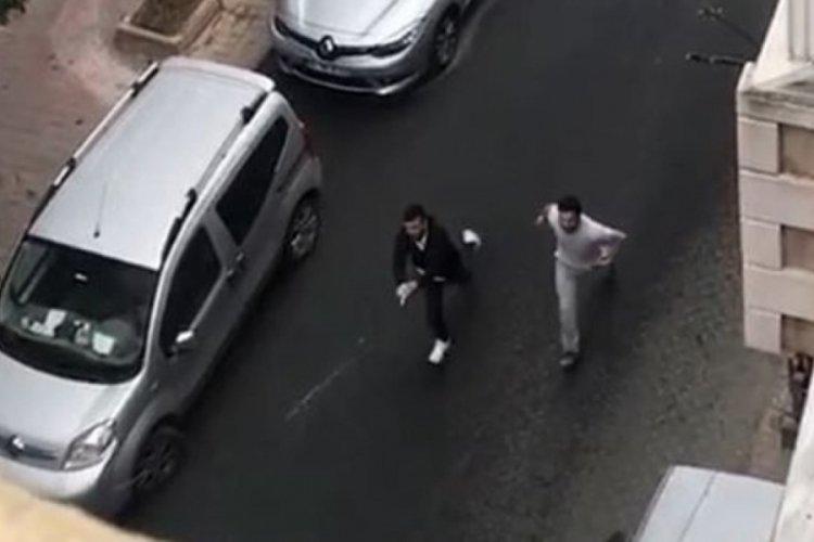 Kendini darp eden kişiyi sokak ortasında vurdu