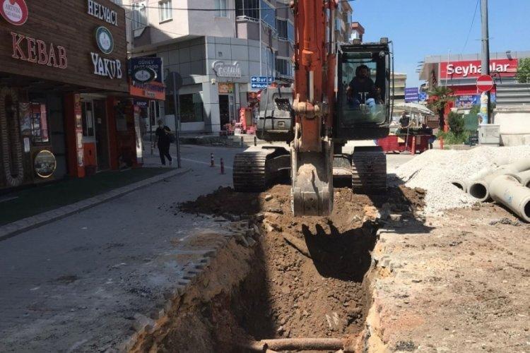 Bursa Güzelyalı'da altyapı güçleniyor